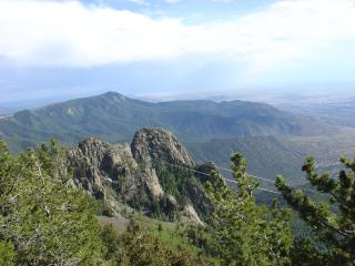 View from Crest Spur Trail